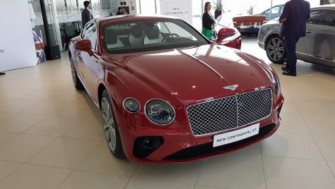Noul Bentley Continental GT, lansat în România. VEZI cât costă