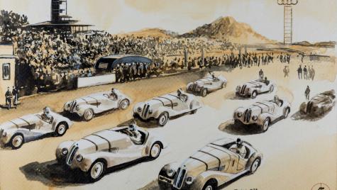 Blue Coffee: 101 picturi cu cafea dedicate 100 de ani istorie BMW