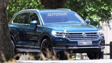 Primele imagini cu noul VW Touareg. Premiera în 2018
