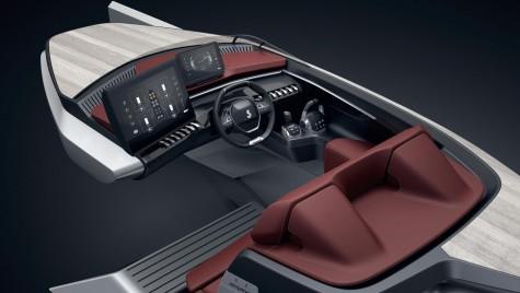 Bine ați venit la bordul ambarcațiunii Peugeot. Așa arată un Peugeot în variantă marină
