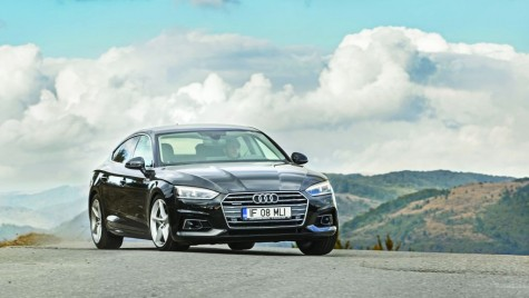 Drive test Audi A5 Sportback