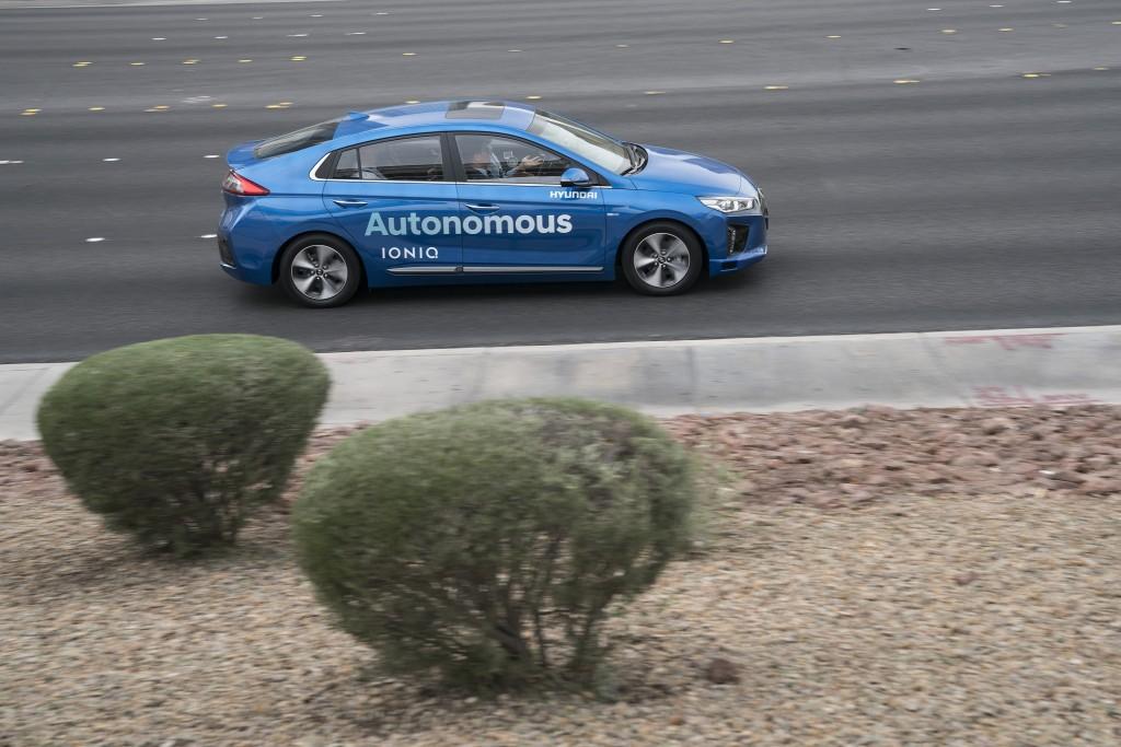 autonomous Hyundai