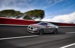 Un prototip BMW Seria 8 Coupe a fost pus la încercare pe circuit