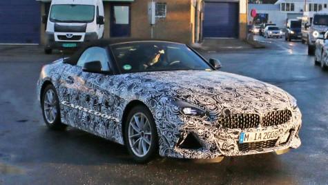 BMW Z4 2019 a început să renunțe la camuflaj! Se apropie momentul prezentării oficiale