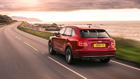 Bentley Bentayga Coupe vine în 2019