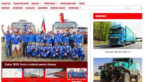 Revista Cargo&Bus lansează noul site www.cargo-bus.ro