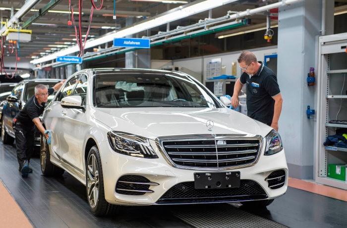 Mercedes grevă muncitori