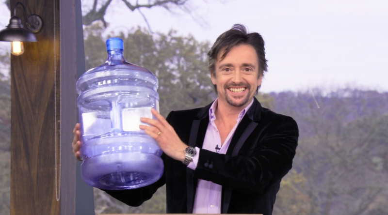 Richard Hammond apă