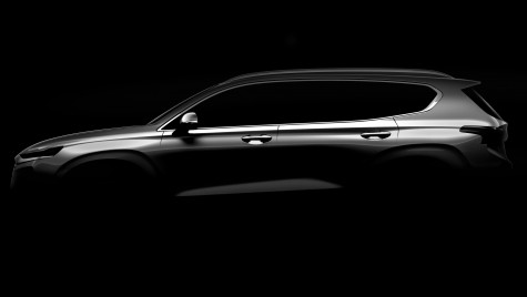 Noul Hyundai Santa Fe vine în februarie