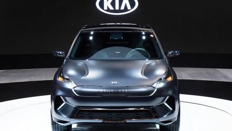 Kia Niro EV Concept a fost prezentat oficial la CES 2018