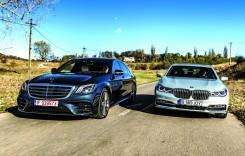 Test comparativ Mercedes S 400 d 4Matic vs BMW 740 d xDrive