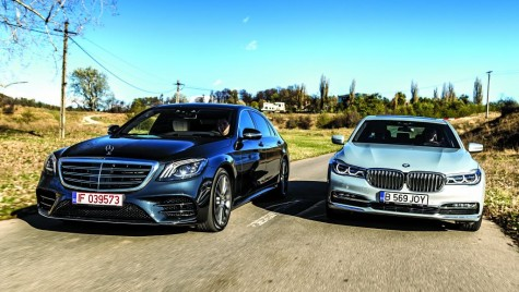 Test comparativ Mercedes S 400 d 4Matic vs BMW 740 d xDrive