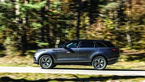 Drive test Range Rover Velar