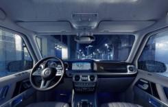 Apar fotografii noi cu interiorul noului Mercedes-Benz Clasa G