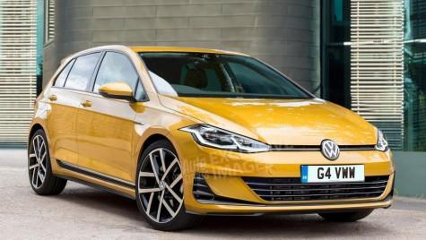 Noul Volkswagen Golf vine în 2019 cu un look surprinzător