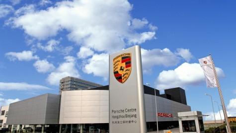 Porsche deschide reprezentanța cu numărul 100 în China!