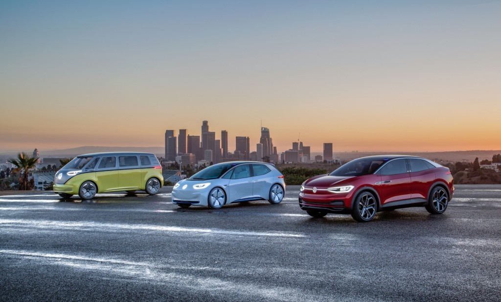 Volkswagen mașini electrice