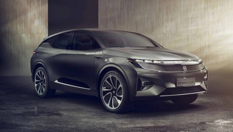 Byton Crossover Concept: SUV electric autonom, Made in China