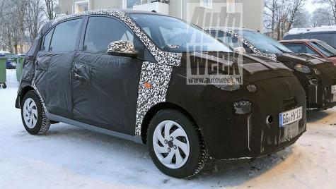 Noul Hyundai i10: Primele imagini spion