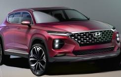 Au apărut primele schițe cu viitorul Hyundai Santa Fe!