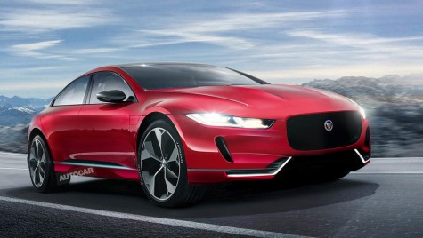 Jaguar transformă XJ într-un model electric, rival pentru Tesla Model S!