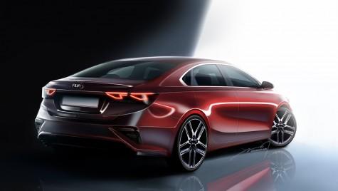 Kia Forte: Noul sedan compact al casei coreene