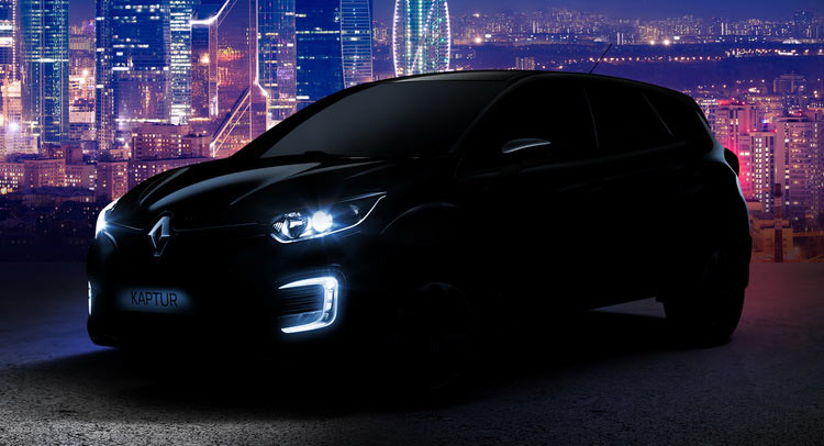 Renault Kaptur teaser Russia