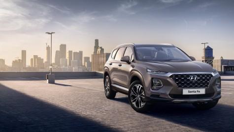 Primele imagini cu noul Hyundai Santa Fe