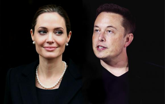 Angelina Jolie Elon Musk