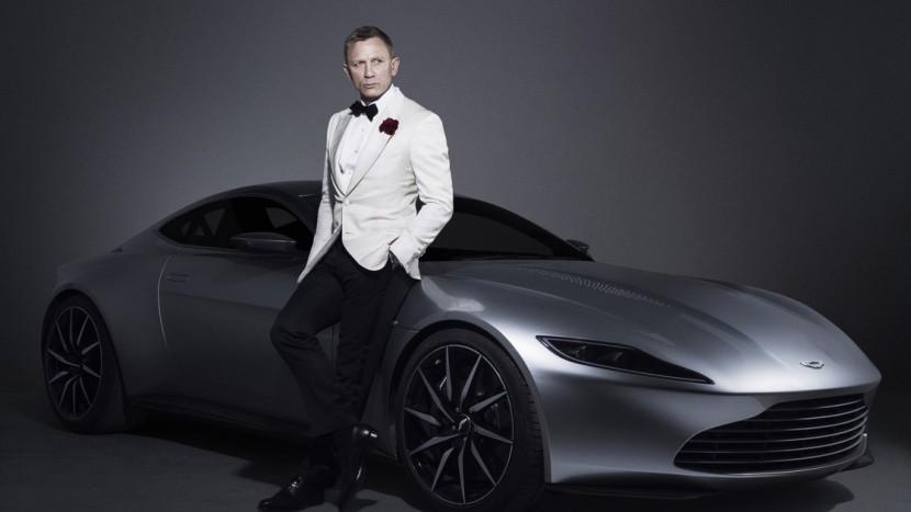 Aston Martin Daniel Craig James Bond