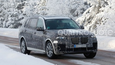 BMW X7 în versiune de serie va fi prezentat la Los Angeles