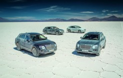 Bentley Bentayga în Anzi: Blazon sălbatic