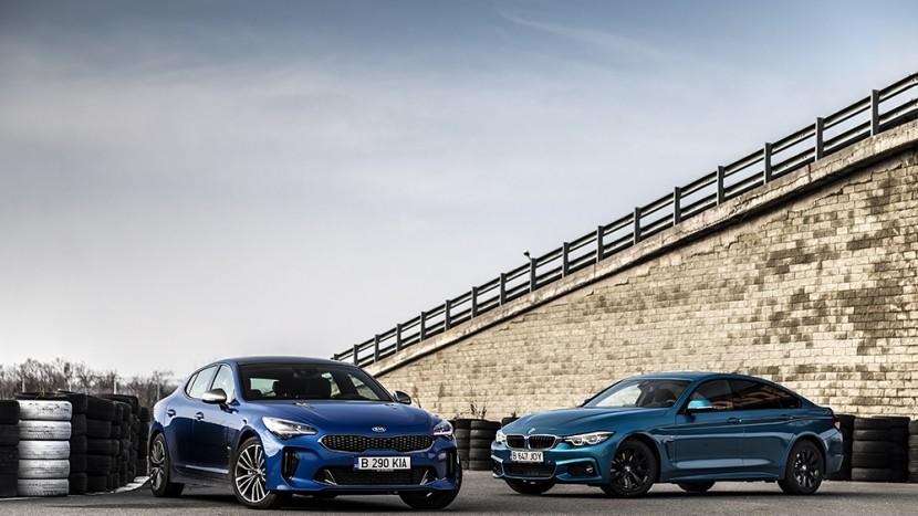 Kia Stinger 2.2 CRDI vs BMW 420 d Gran Coupe