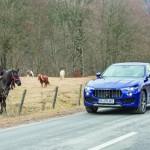 Drive test Maserati Levante
