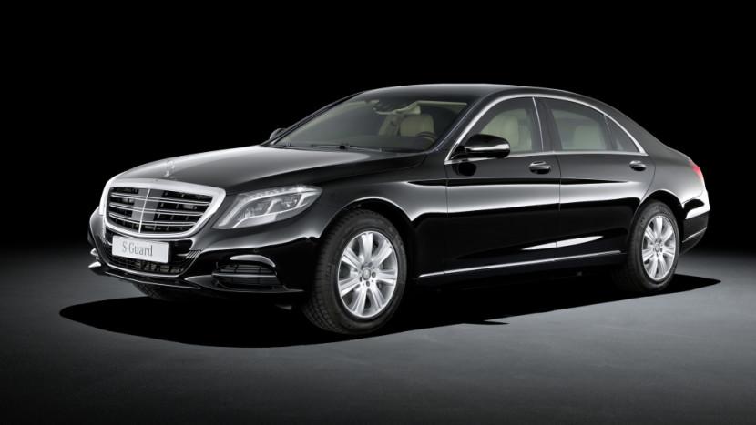 Mercedes-Benz S-Class SPP mașini blindate