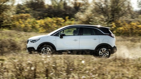 Test drive Opel Crossland X 1.2 Innovation