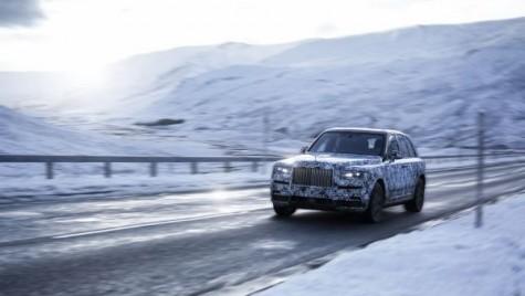 Cullinan este numele SUV-ului Rolls-Royce
