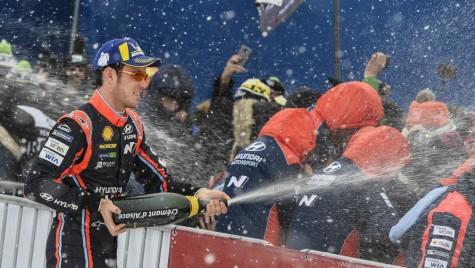 WRC 2018: Neuville câștigă în Suedia și devine lider