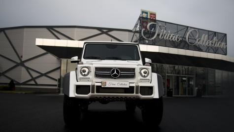 Ion Țiriac are un Mercedes-Maybach G 650 Landaulet în colecție