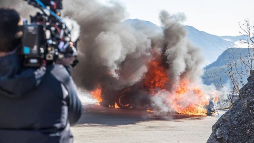 Top Gear incendiu
