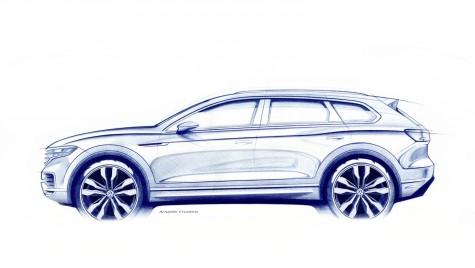 Noul Volkswagen Touareg este gata în martie, dar nu vine la Geneva
