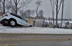 Peste 8.600 de accidente grave pe drumurile din România
