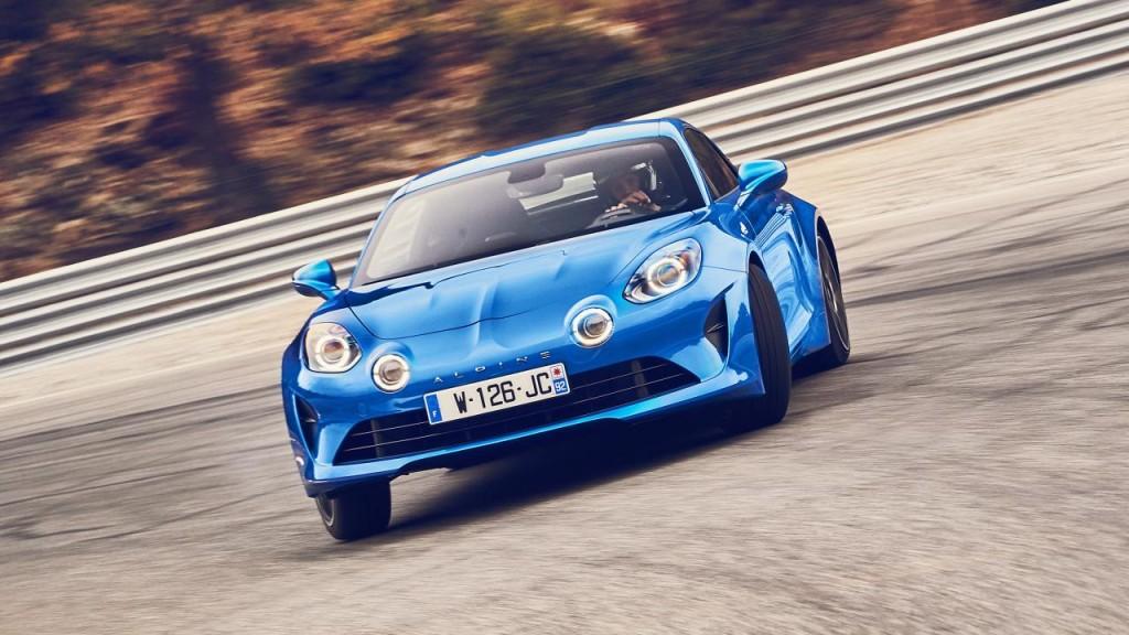 Alpine A110 Top Gear