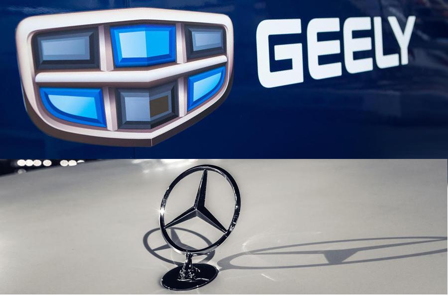 Geely Mercedes
