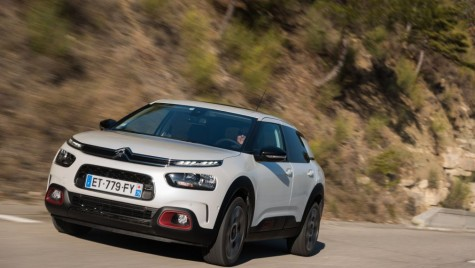 Test video: Citroen C4 Cactus