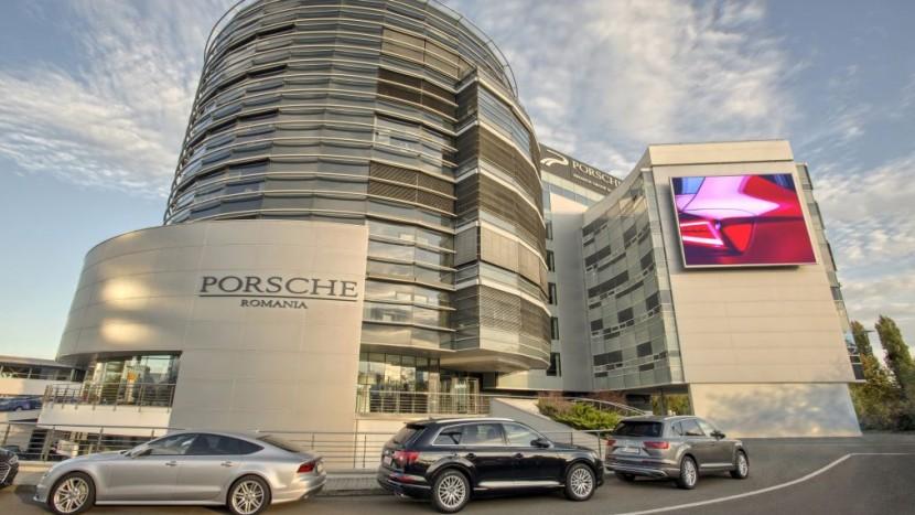 sediu Porsche Romania