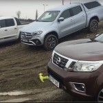Test video: Noul Mercedes X-Class vs Nissan Navara, VW Amarok