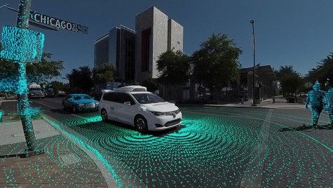 O călătorie prin oraș cu un vehicul autonom