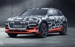 Geneva 2018: Audi e-tron, primul model electric al companiei