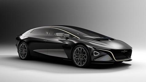 Geneva 2018: Aston Martin Lagonda Vision anticipează prima electrică a companiei